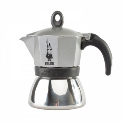 Bialetti Moka Induction Antracyt - 3 espresso