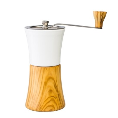 Hario Ceramic Coffee Mill Olive Wood  - młynek ręczny